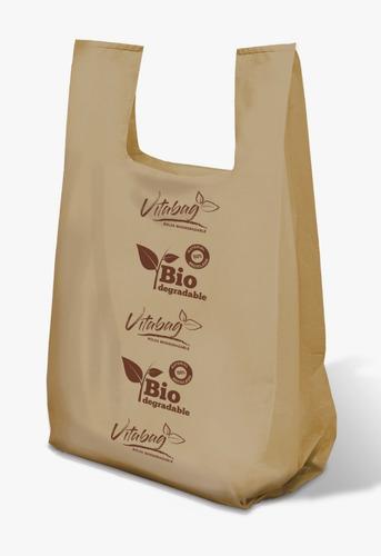 Imagen 1 de 6 de 1 Kilo De  Bolsa Camiseta Biodegradable Impresión Genérica