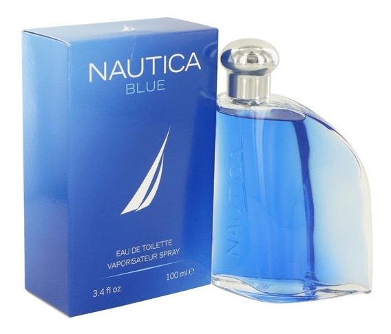 Perfume Nautica Blue Masculino 100ml Edt - Original