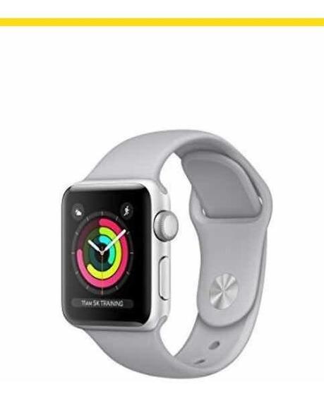 Apple Watch Serie 3. Caja Aluminio 38mm. Correa Sport