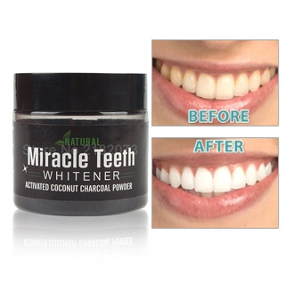 Teeth Whitening Blanqueador Dental Carbón Coco 100% Original