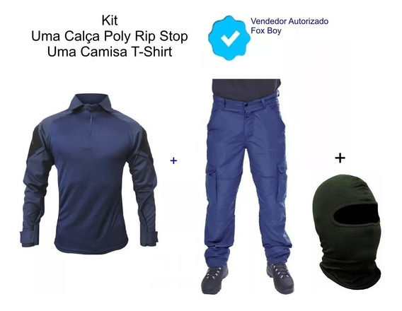 Calça + Gandola Camisa Blusa Pescaria Air Soft Paint Ball