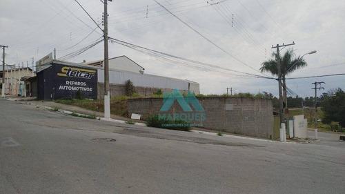 Imagem 1 de 7 de Ótimo Terreno Comercial, Fácil Visualização Da Via Dutra, 272 M² Por R$ 148.000 - Parque Residencial Vitória Vale - Caçapava/sp - Te0016