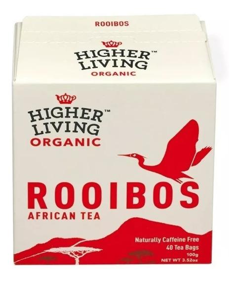 Té Africano Orgánico De Rooibos Higher Living A0003832