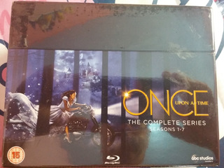 Box Blu Ray Once Upon A Time 1ª A 7ª Temporada Novo Leg. Pt