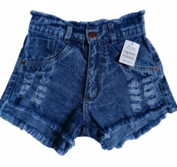 6 Short Jeans Feminino Pra Revenda Atacado Sacoleira Barato
