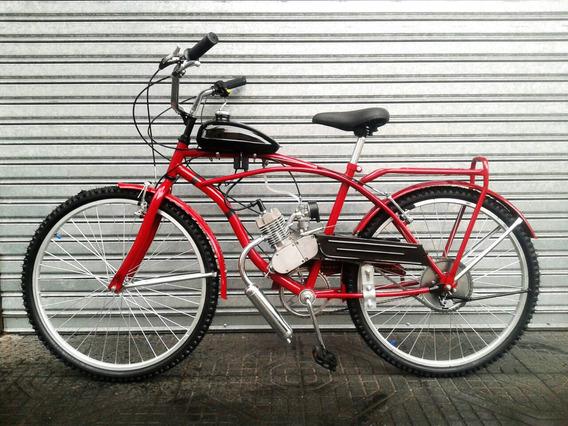 Bicimoto Playera Full Bicicletería Savage 48cc *