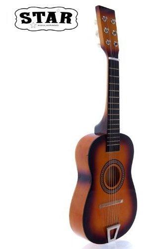 Guitarra Acustica Para Niños Star Mg50-sb De 23 Pulgadas,