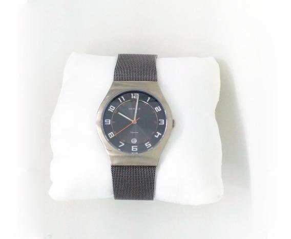 Reloj Bering Time 11937-007 Coleccion De Titanio De Hombre