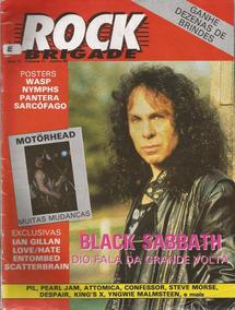 Rock Brigade 1992 71 Black Sabbath Dio Posters Wasp Nymphs