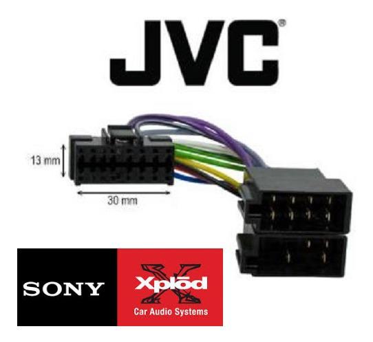 Sony Jvc Aiwa Chicote Conector Plug Soquete 100% Original
