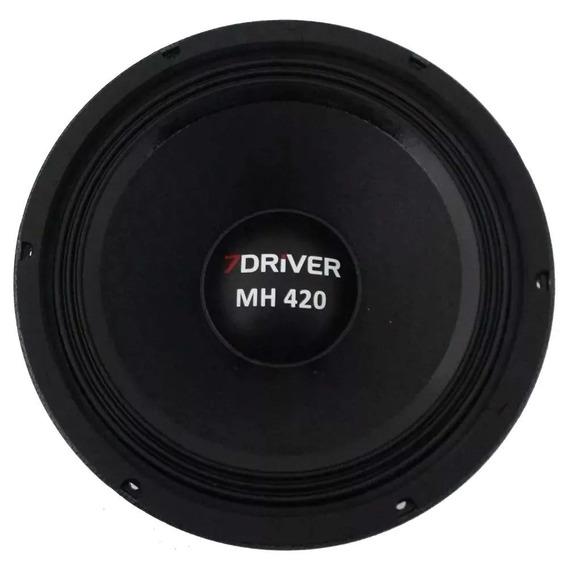 Alto Falante Woofer 7 Driver Mh420 420wms 10 Polegadas 8 Ohm