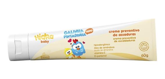 Creme P/assadura Galinha Pintadinha 60g Farmax