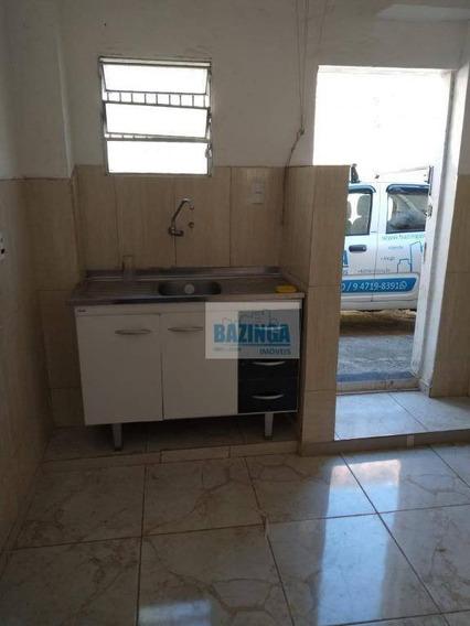 Casa Com 1 Dormitório Para Alugar, 60 M² Por R$ 800/mês - Vila Cléo - Mogi Das Cruzes/sp - Ca0376