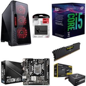 Pc Lumia Intel I5 8400 Mb H310m Hg4 Vg 4gb Vs400 Ssd 120gb