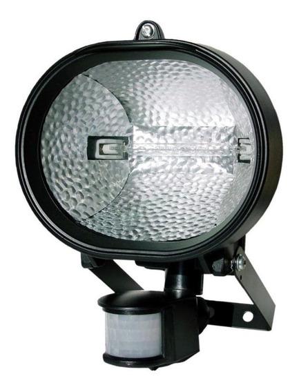 Refletor Holofote Halógeno E Sensor De Presença 500w Dni6018