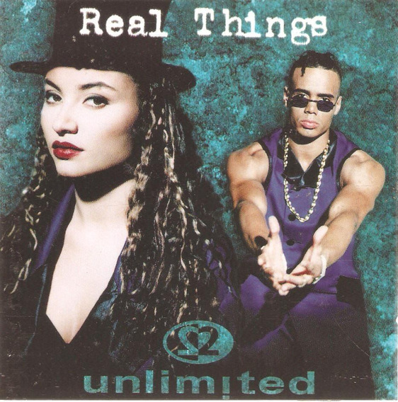 Cd Real Things - Unlimited - Semi Novo***
