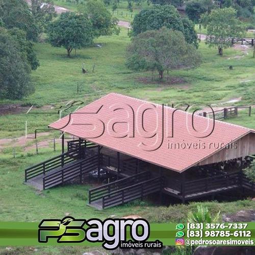 Imagem 1 de 8 de Fazenda À Venda, 1495151900 M² Por R$ 1.400.000.000,00 - Porto Da Manga - Corumbá/ms - Fa0233