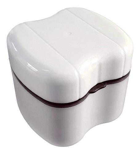 Imagen 1 de 6 de Util Caja Para Guardar La Dentadura Para El Cuidado Dental.