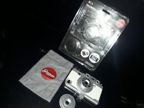 Curioso Acessório iPhone 4 /4s Gizmon Ica Fotografica Câmera
