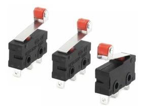 Kit 03 Endstop / Fim De Curso Impressora 3d Cnc Router