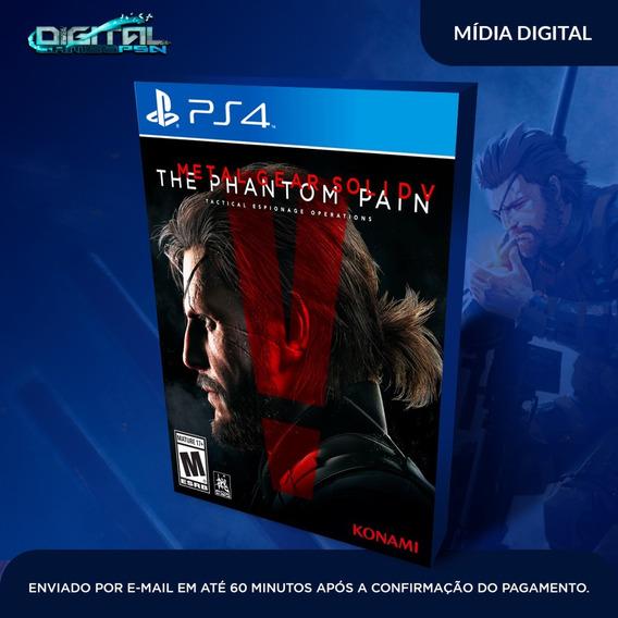 Metal Gear Solid V The Phantom Pain Ps4 Psn Envio 10 Minutos