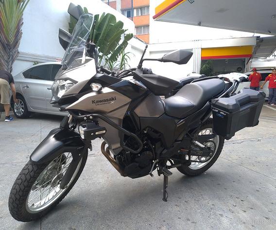 Kawasaki Versys-x 300 Tourer - Baixou