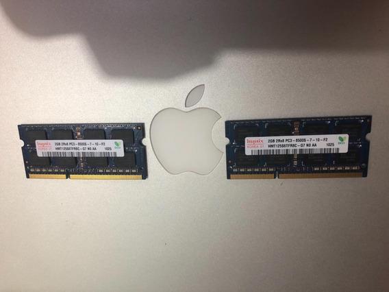 2 Memorias 2gb Ddr3 1066 Mhz Macbook