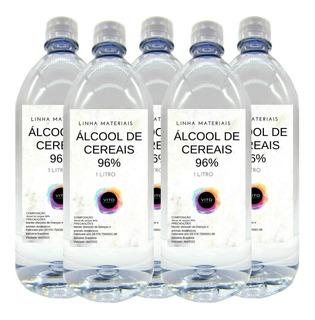 Álcool De Cereais 96% P/ Difusor Ou Bebidas - 5 Litros