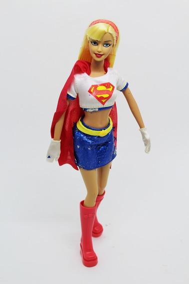 Boneca Barbie Supergirl 2003 Collector Dc Comics Kara