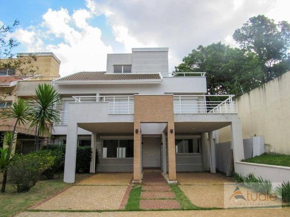 Casa Com 4 Dormitórios À Venda, 413 M² - Parque Taquaral - Campinas/sp - Ca5728