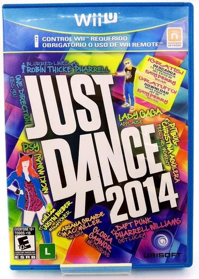 Just Dance 2014 Nintendo Wiiu Mídia Física Pronta Entrega