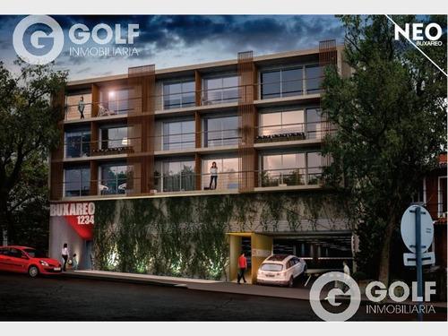 Vendo Apartamento De 1 Dormitorio Hacia Atrás, En Construcción, Pocitos, Montevideo
