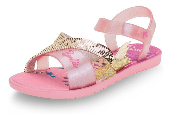 Sandália Infantil Barbie Dreamtopia Meninas Grendene Kids