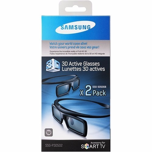 Óculos Samsung 3d Ativo Ssg-p30502 Novo Na Caixa