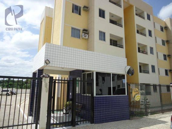 Apartamento Com 2 Dormitórios À Venda, 49 M² Por R$ 170.000,00 - Messejana - Fortaleza/ce - Ap1463