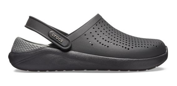 Sandalia Unisex Crocs Literide Clog Negro