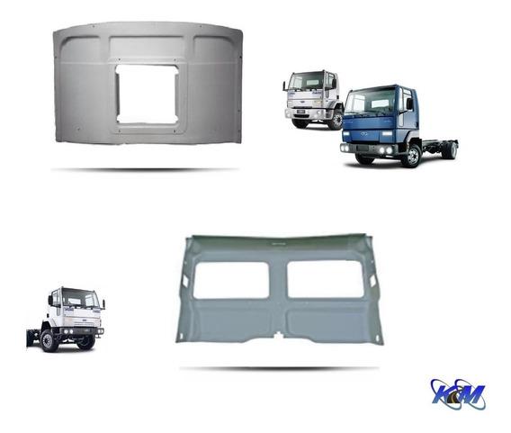Forro De Teto E Parede Caminhão Ford Cargo Novo E Antigo - Vinil Original Cinza