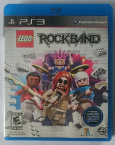 Lego Rock Band - Ps3 Midia Fisica