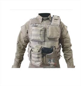 Camisa Combat Shirt Militar E Colete Completo Tático Modular