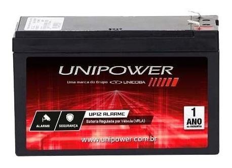 Bateria 12v Unipower Cerca Elétrica Alarme Cftv Segurança