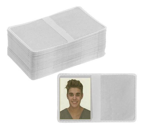 Carteirinha Para Fotos 3x4 300 Unidades - Branca