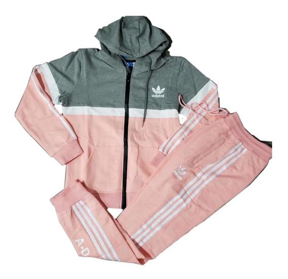 Conjuntos Saco Sudadera Para Dama 100% Algodon Nike adidas