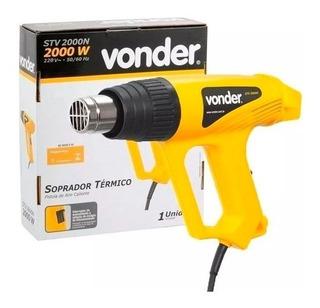 Soprador Térmico 2000w Vonder Stv2000n 127v C/ Acessórios