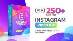 250+ Instagram Stories Templates After Effects Animados