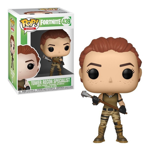 Figura Funko Pop Games Fortnite - Tower Recon 439