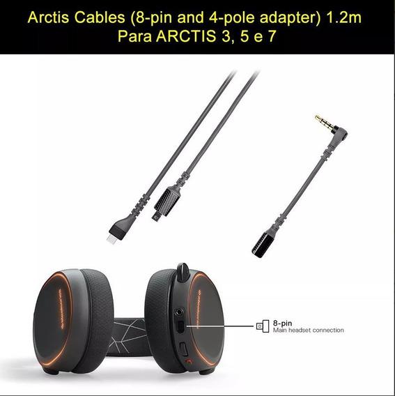 Kit Original Cabo Steelseries P3 Arctis 3, 5 Pronta Entrega