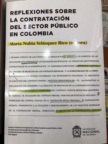 Reflexiones Sobre La Contratación Del Sector Público En Colo