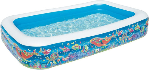 Piscina Mediana 54121 Inflable 3 Anillos  305 X 183 X 56cm