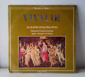 Disco Vinil Vivaldi As Quatro Estações. Opus 8