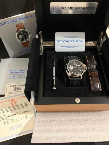Relógio Panerai Gmt 44mm Completo Luminor Pam 0088
